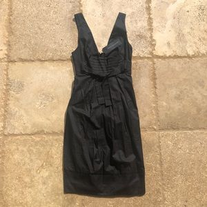 French Connection NWT $168 Black Linen Dress Sz 2